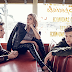 Hailey Baldwin hangs out with some hot boys in Esquire this month