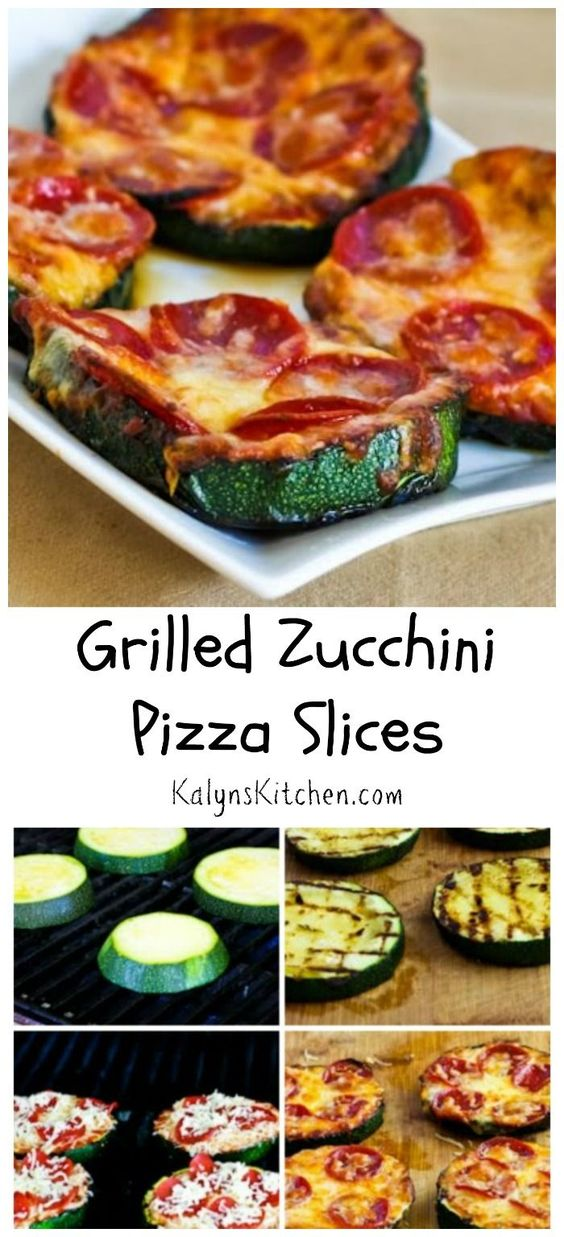 ★★★★☆ 9810 ratings    | GRILLED ZUCCHINI PIZZA SLICES #GRILLED #ZUCCHINI #PIZZA #SLICES #TASTY