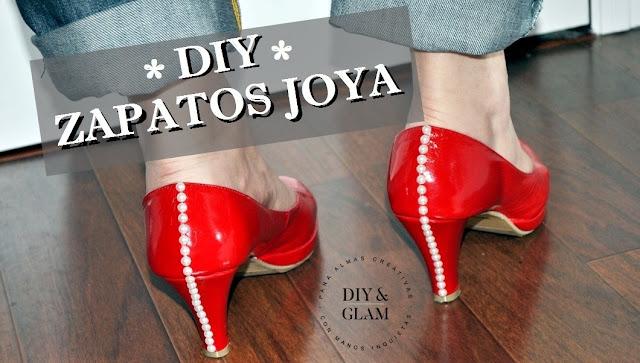 Diy zapatos joya