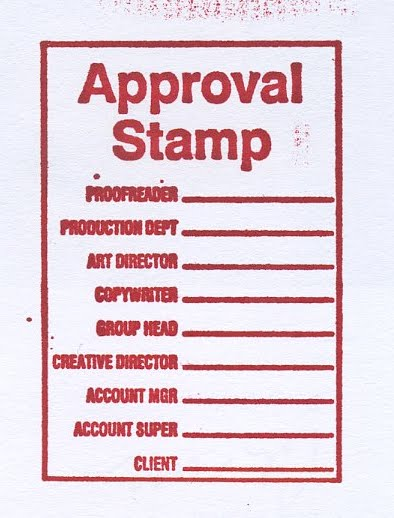 ad aged a stamp from the past