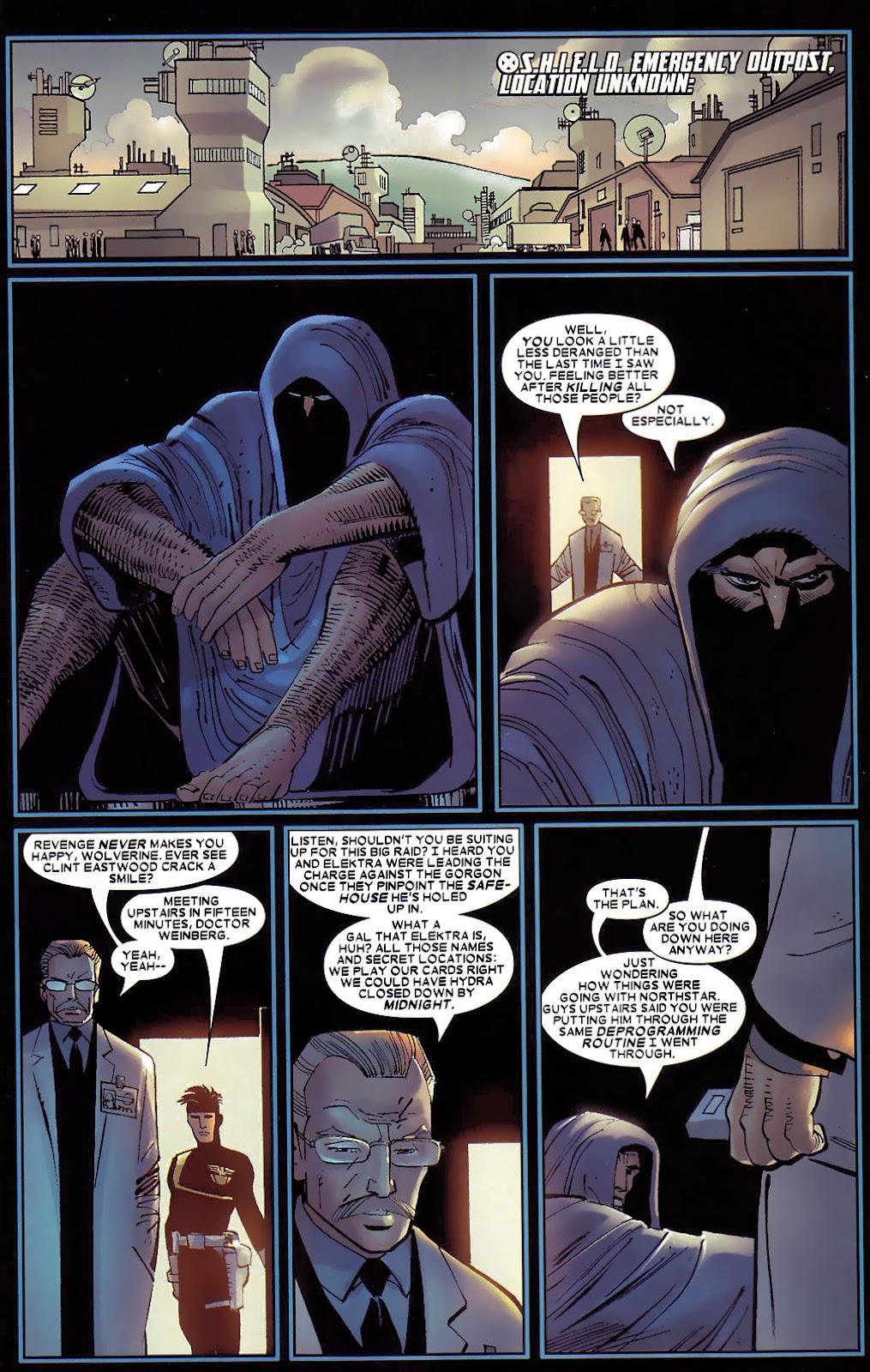 Read online Wolverine (2003) comic -  Issue #30 - 5