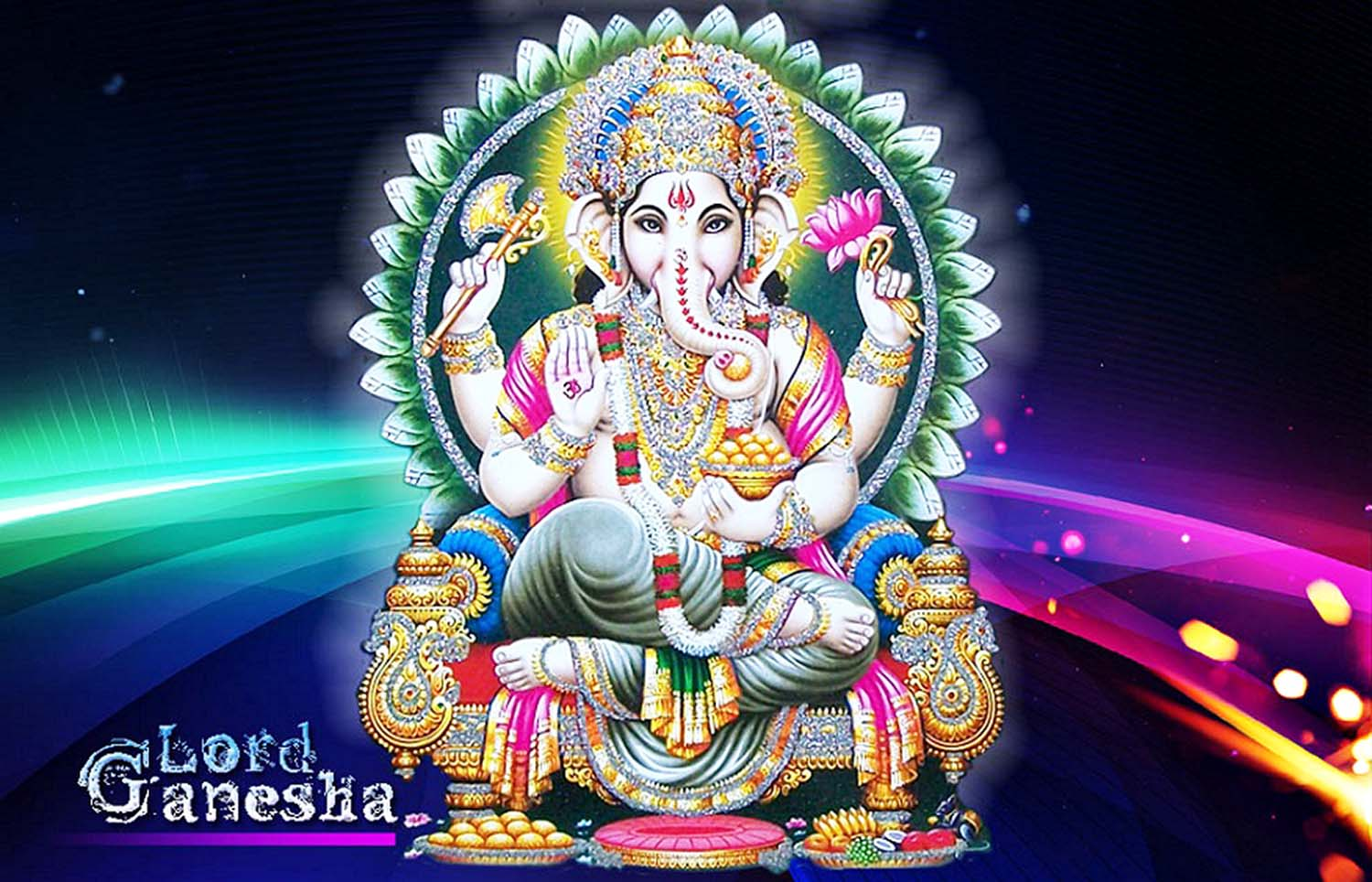 Giant Hd photo of Ganesh ji!