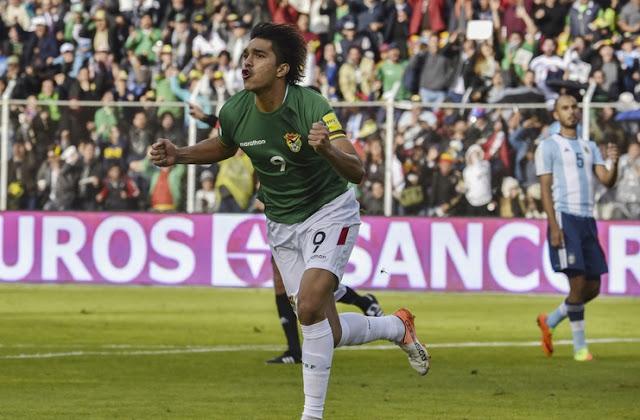 Bolivia kalahkan Argentina