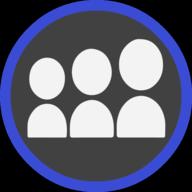 myspace icon outline