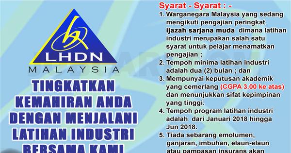 Program Latihan Industri di Lembaga Hasil Dalam Negeri LHDN