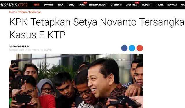 Setya Novanto Sangat Terinspirasi Oleh Pidato Jokowi
