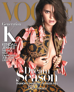 Kendall Jenner covers the Fashion Bible Vogue September issue. See photo spread at JasonSantoro.com