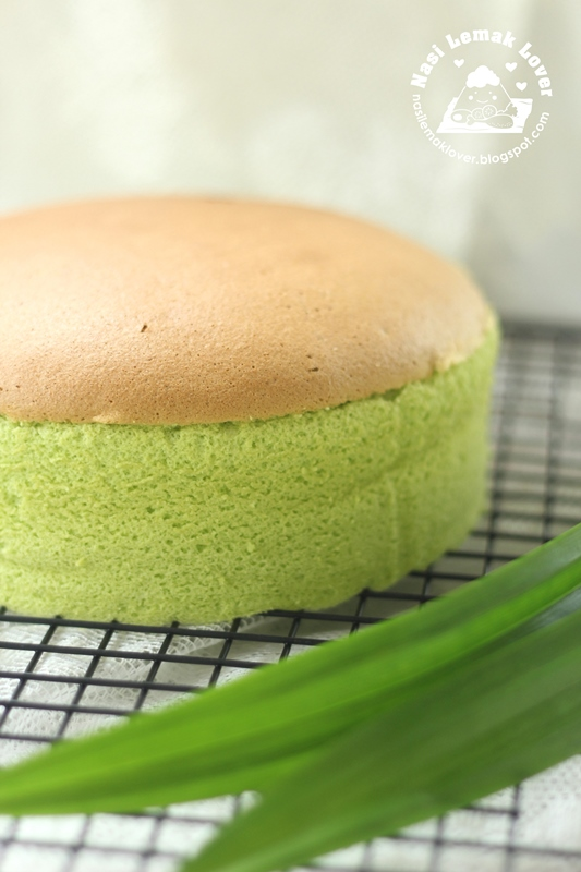 Pandan Sponge Cake ??????