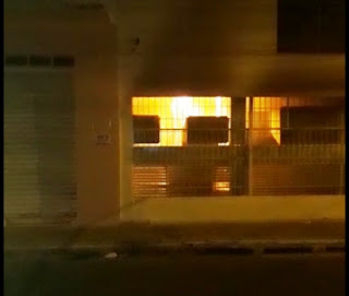 Incêndio Itaú em Brumado
