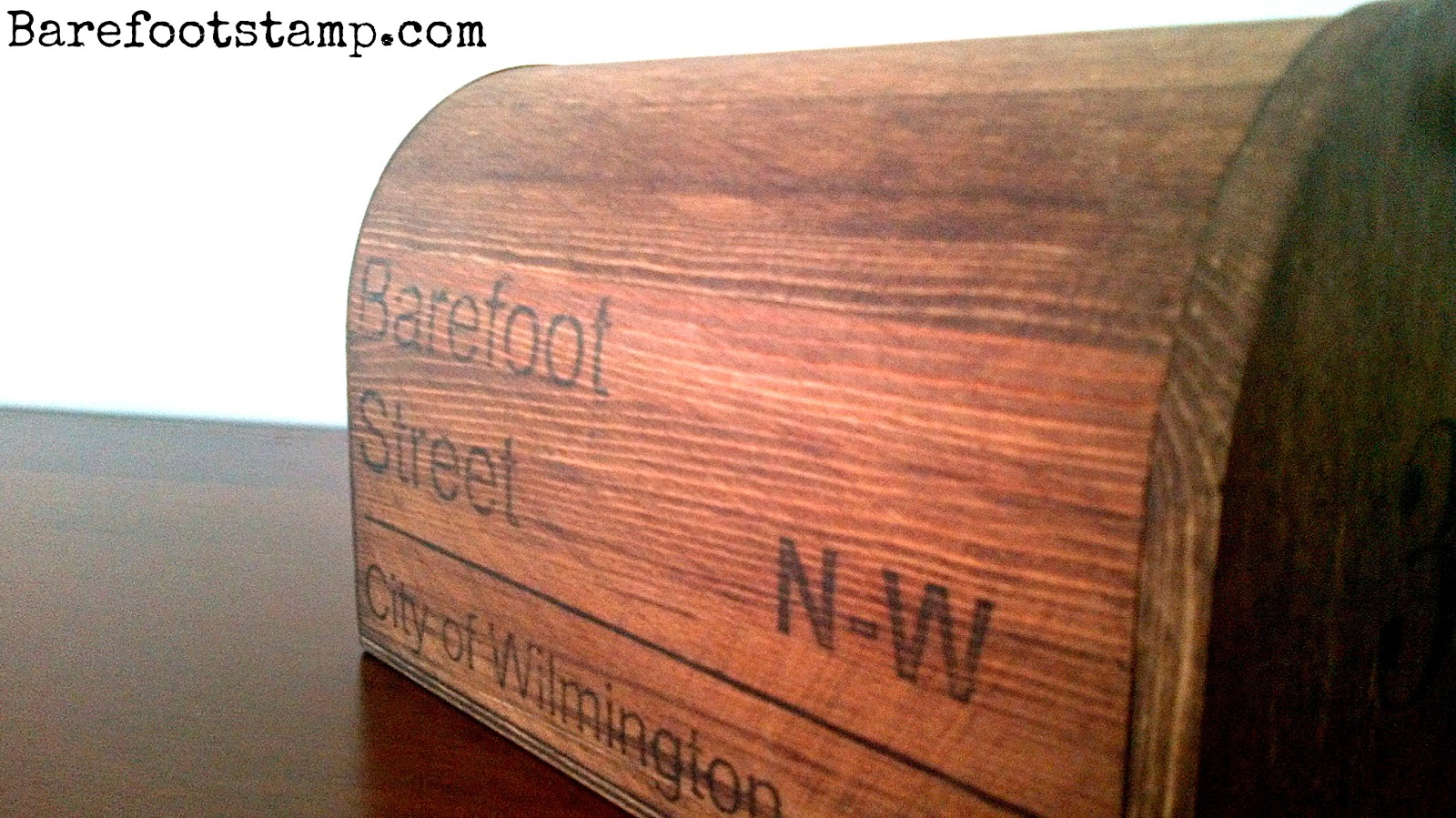 Barefoot Stamp Valentine Mail Boxes