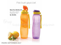 New Eco Bottle Tupperware Promo September 2017