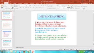 Materi Micro Teaching ppt