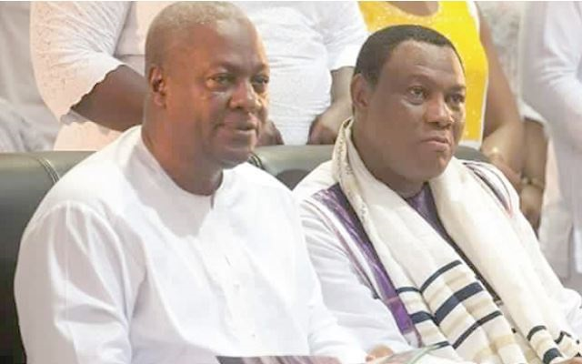 Becoming President is a calling from God - Mahama