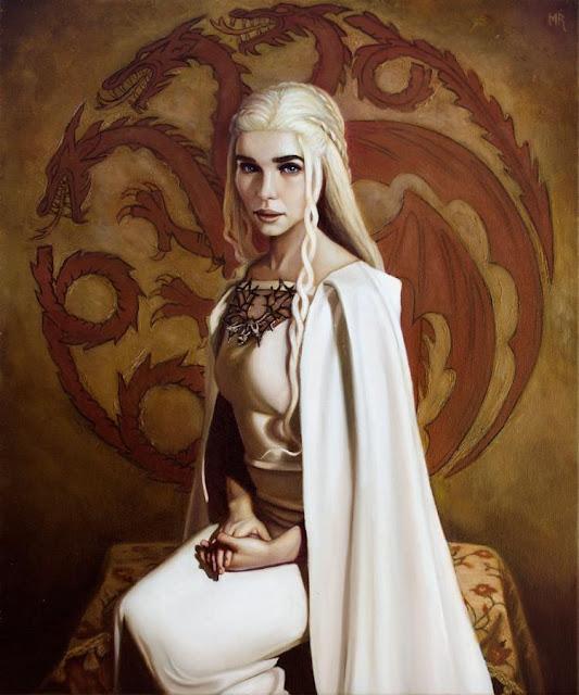 "Michael Ramstead ""Daenerys Targaryen"""