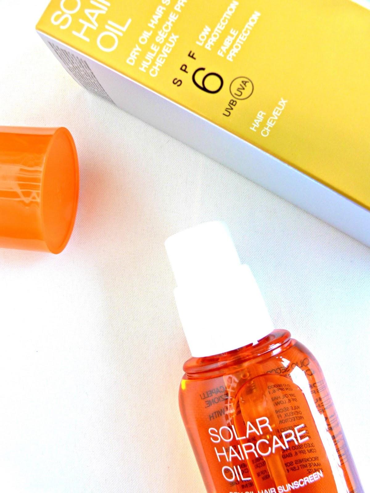 Solar KIKO Milano haircare oil aceite protector cabello 1