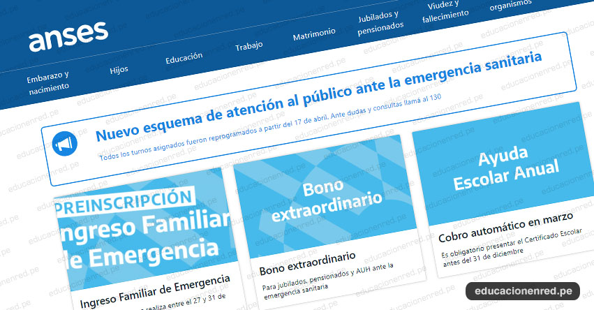 WWW.ANSES.GOB.AR - Cronograma Preinscripción - Formulario, Requisitos para el beneficio económico del bono $10.000 Pesos en Argentina [VIDEO]