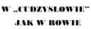 10 trudności w języku polskim, cudzysłów jako jedna z nich