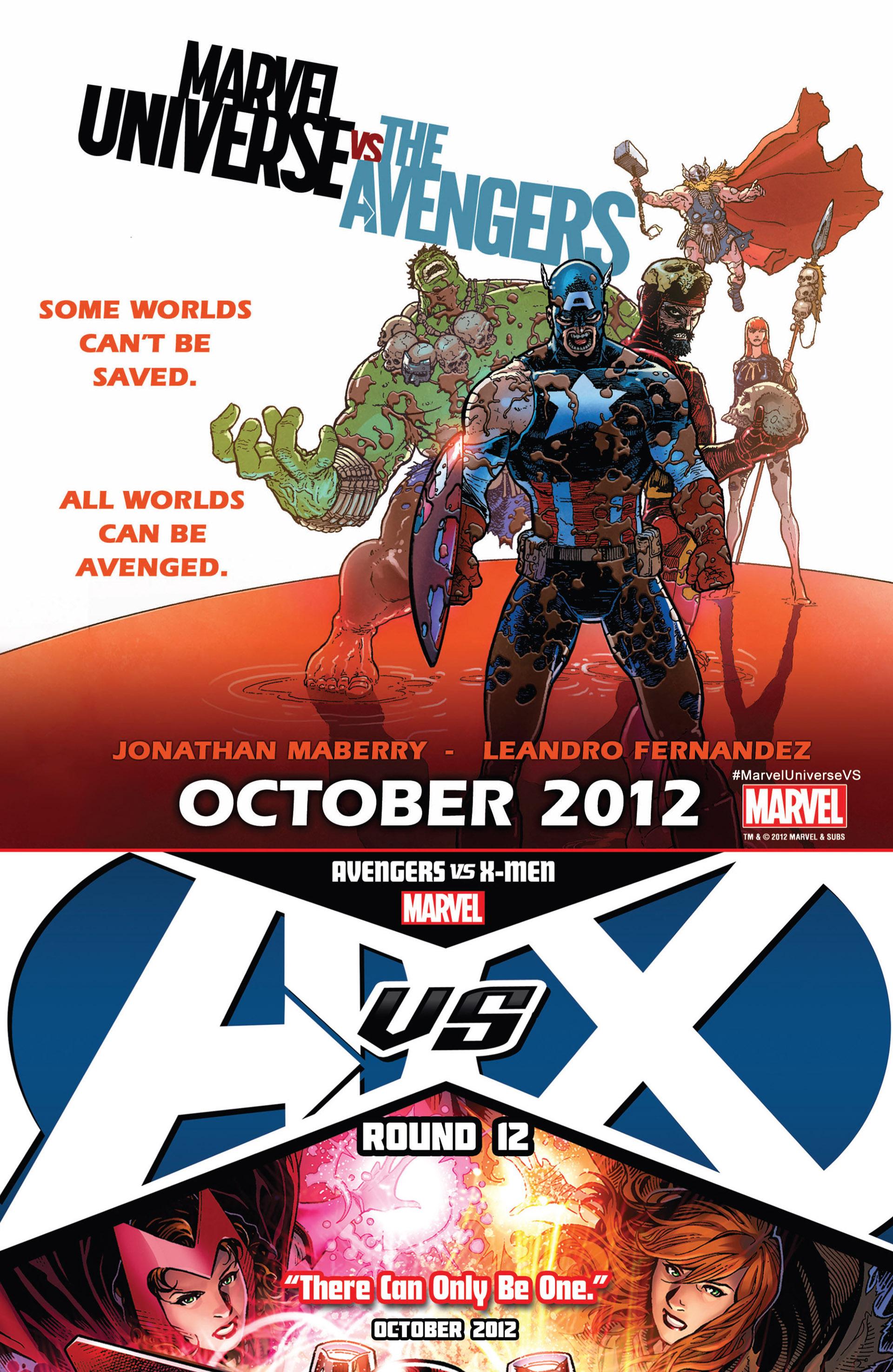 Read online Uncanny X-Men (2012) comic -  Issue #18 - 24