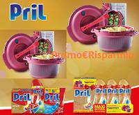 Logo Concorso ''Compra Pril e vinci 200 pentole a pressione per Microonde Tupperware con ricettario