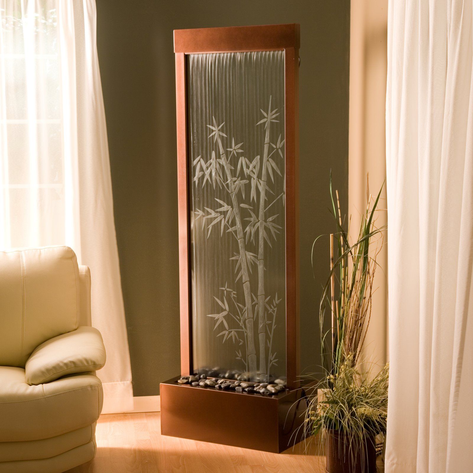 Achmad-idris: indoor waterfalls interior
