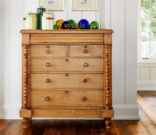 antique accent chest