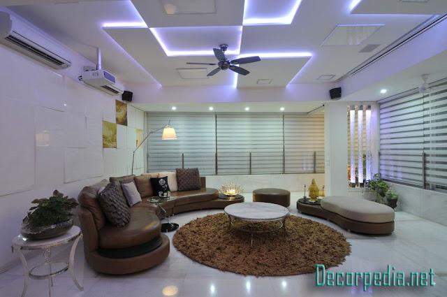 pop design, pop false ceiling design ideas for living room and hall 2019, pop designs with backlight