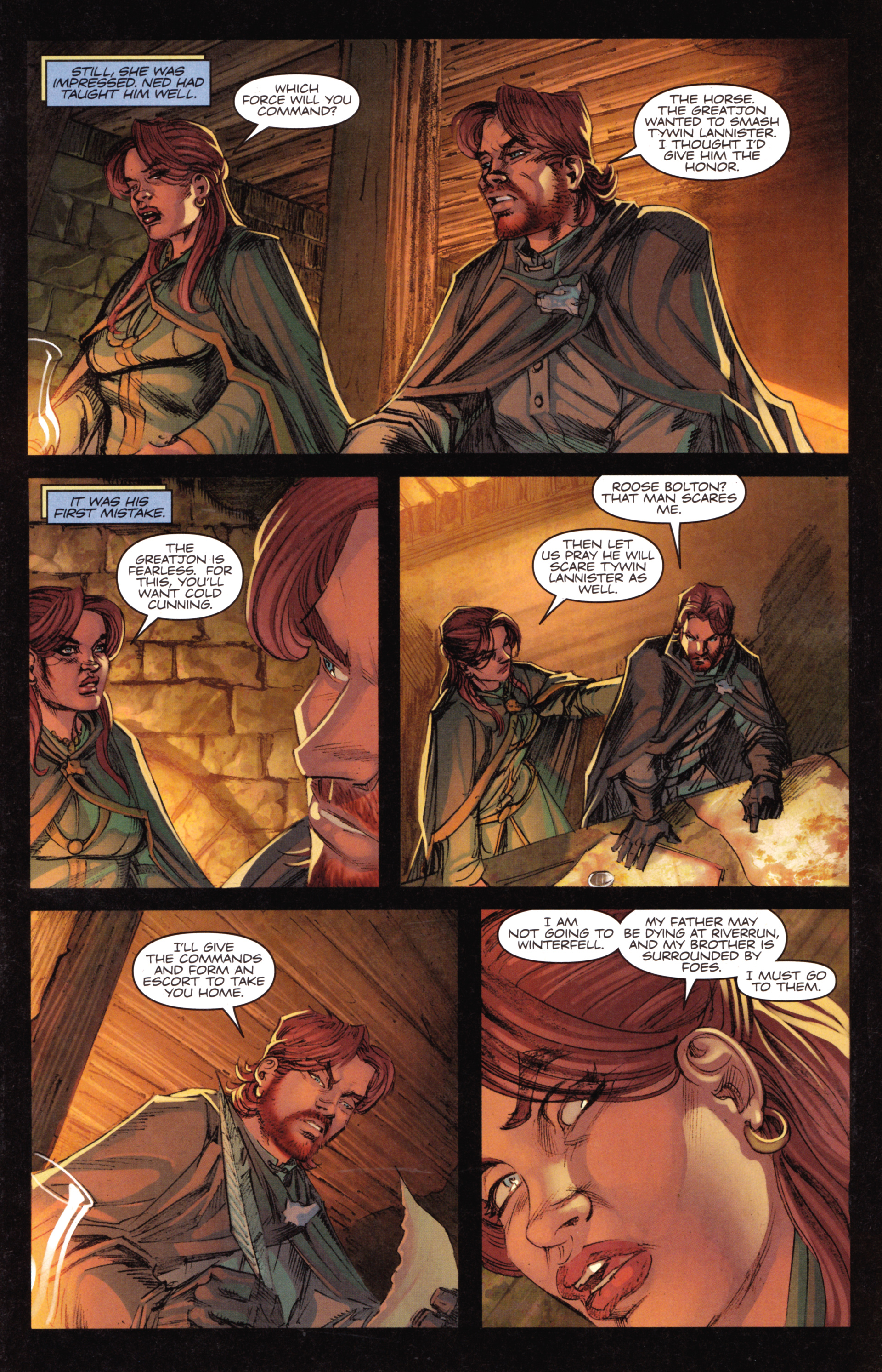 Read online A Game Of Thrones comic -  Issue #18 - 13