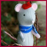 ratoncito de tela