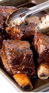 SLOW COOKER RECIPES | Slow Cooker Bbq Short Ribs