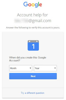 When did you create this Google Account