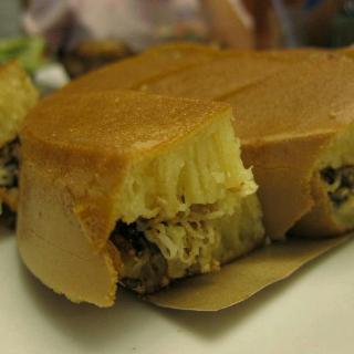 cara membuat martabak manis durian
