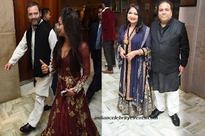 Rahul-Gandi-Rajeev-Shukla-Yuvraj-Singhs-Reception