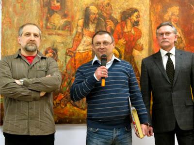 Константин Кожемяка приветствует Шерешевского
