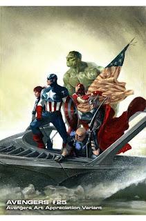 Especial: Vingadores ganham capas que homenageiam obras de arte.| HQ 26