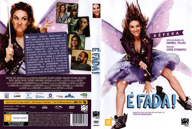 Capa DVD É Fada