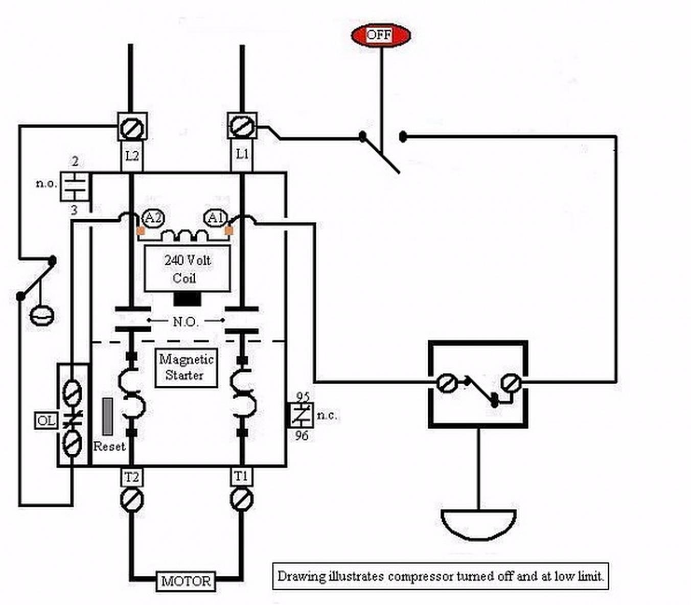 Air Pressor Wiring Diagram 240 Volt Air Pressor Motor Wiring Diagram