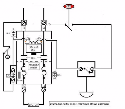 Air  pressor Pressure Switch Wiring Diagram on dimmer switch wiring