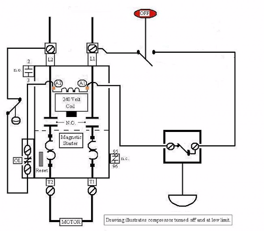 Air Compressor Motor Starter Wiring Diagram EXPAND