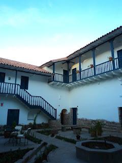 Pátio Interno do Palacio Nazarenas