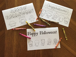 cute printable Halloween cards