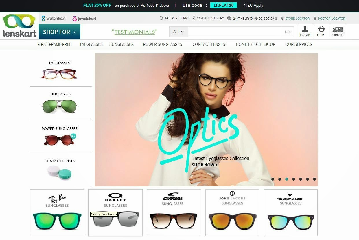 8ea962c7ab A lot of people may have apprehensions about ordering eyewear online but  Lenskart makes it all so amazing and simple. The site has detailed  information ...