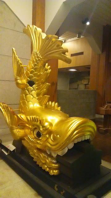 名古屋城の金の鯱