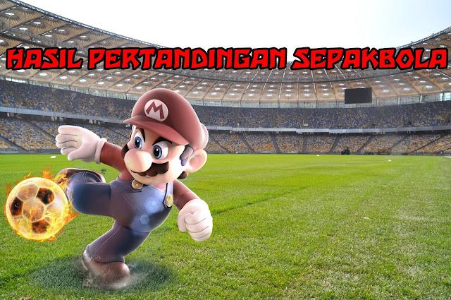 Hasil Pertandingan Sepakbola 01 - 02 Juni 2018