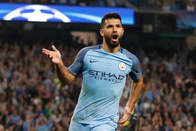 Manchester City Pesta Gol, Aguero Cetak Hattrick