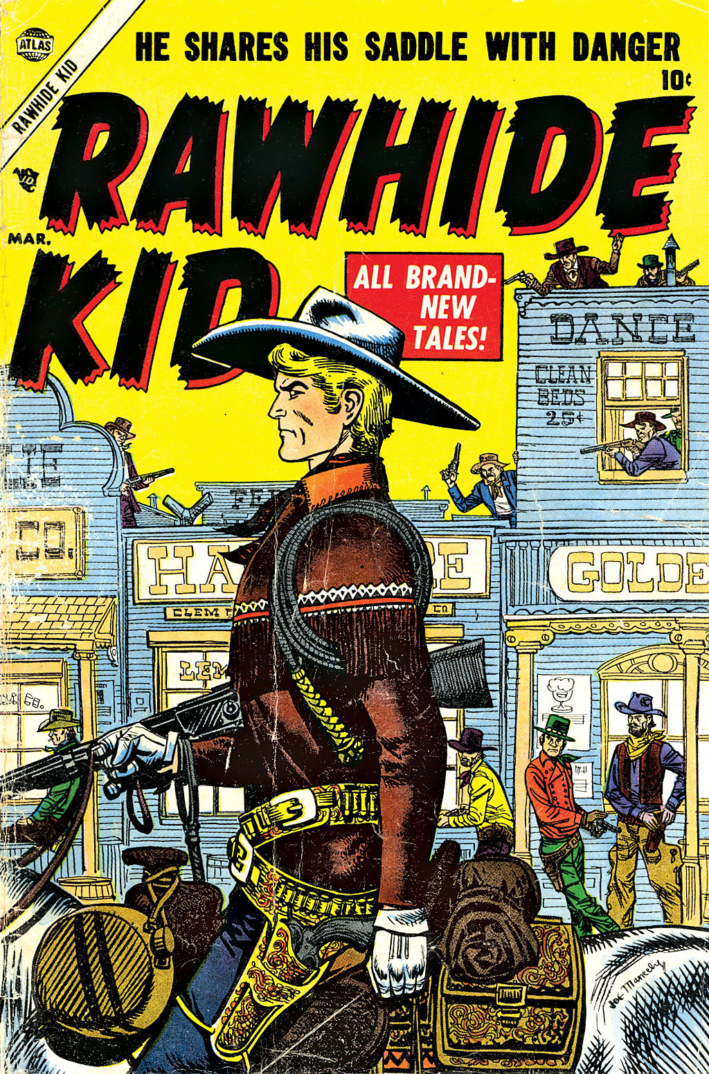The Rawhide Kid (1955) issue 1 - Page 1