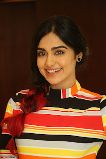 Adha Sharma in a Cute Colorful Jumpsuit Styled By Manasi Aggarwal Promoting movie Commando 2 (123).JPG