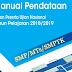 Buku Manual Pendataan Calon Peserta Ujian Nasional 2018- 2019 SMP, MTs dan SMPTK