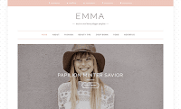 Theme Premium Dari Beautytemplates Download Emma Blogspot Blogger Template Gratis Responsive | Seo Friendly | Clean