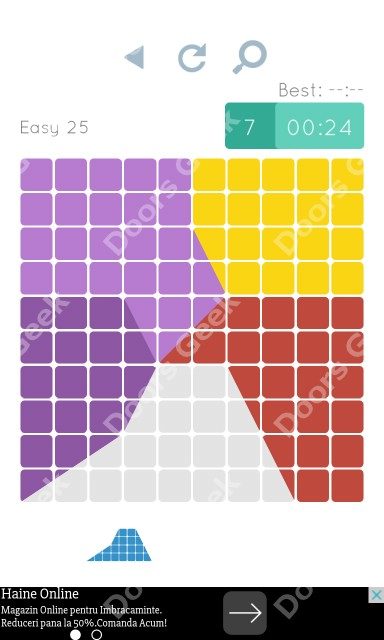 Cheats, Walkthrough for Blocks and Shapes Level 25