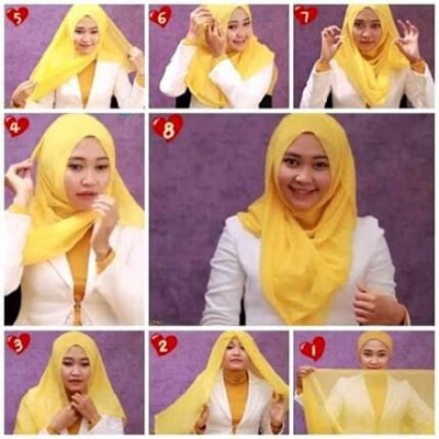 Tutorial Hijab Pesta Pernikahan Simple Modern by Revi 138